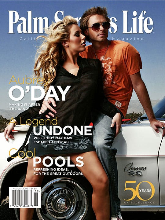 Palm Springs Life magazine - August 2008
