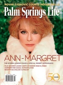 Palm Springs Life magazine - March 2008