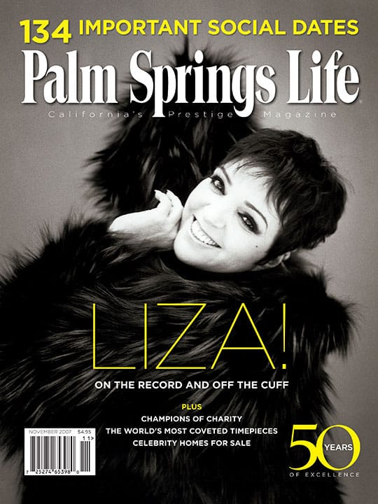 Palm Springs Life magazine - November 2007