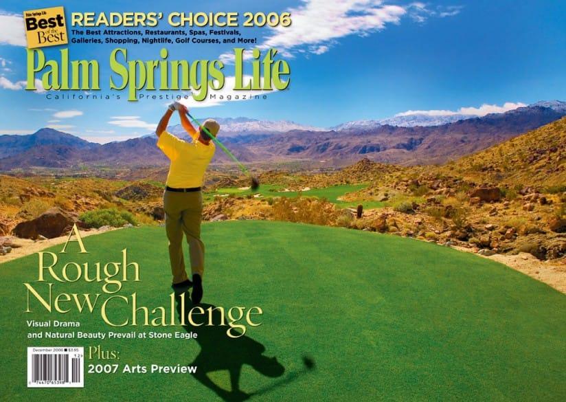 Palm Springs Life magazine - December 2006