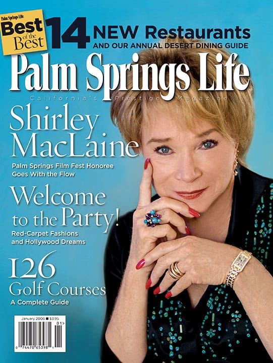 Palm Springs Life magazine - January 2006