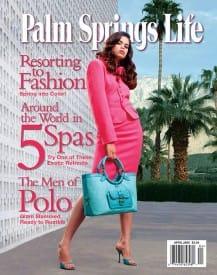 Palm Springs Life magazine - April 2005