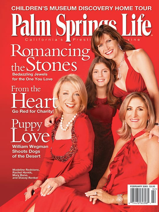 Palm Springs Life magazine - February 2005