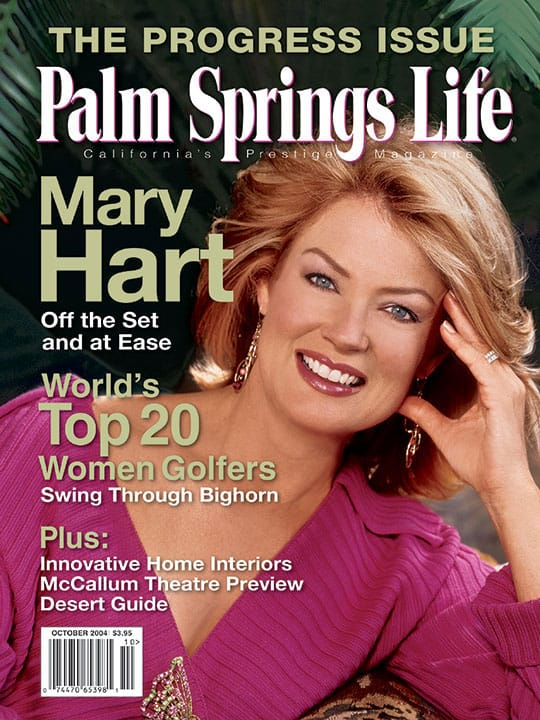 Palm Springs Life magazine - October 2004