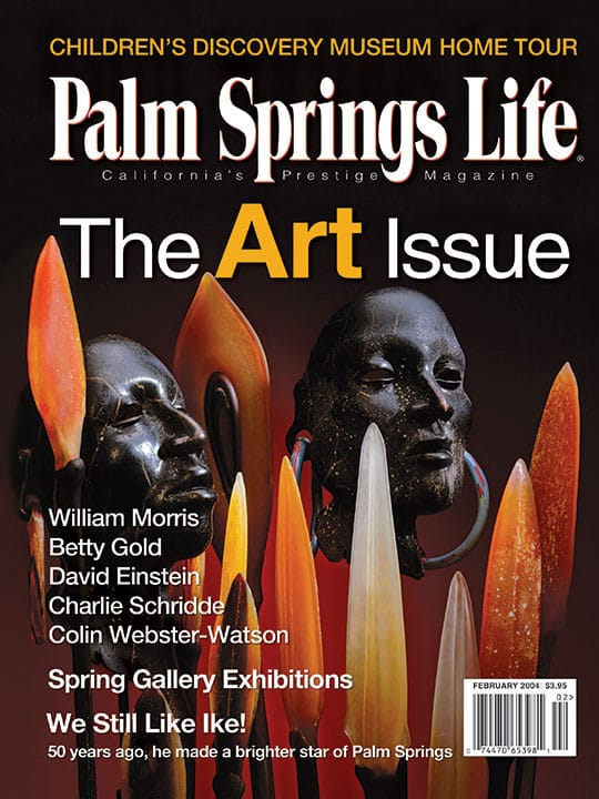 Palm Springs Life magazine - February 2004