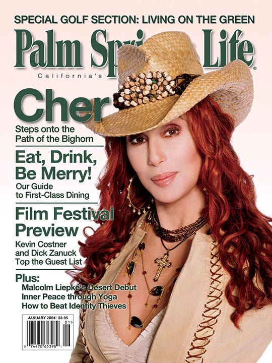 Palm Springs Life magazine - January 2004