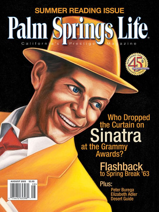 Palm Springs Life magazine - August 2003