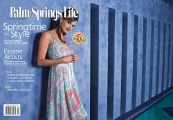 Palm Springs Life magazine - April 2003