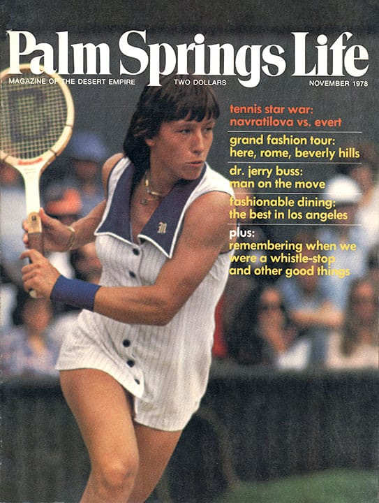 Palm Springs Life magazine - November 1978