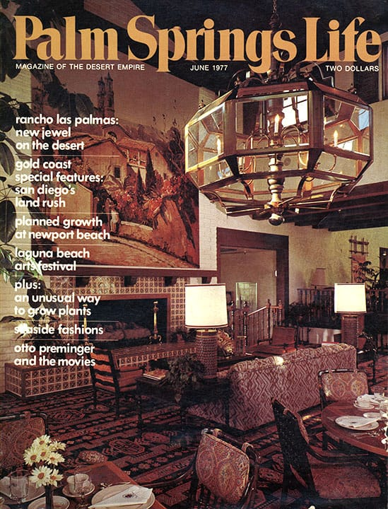Palm Springs Life magazine - June 1977