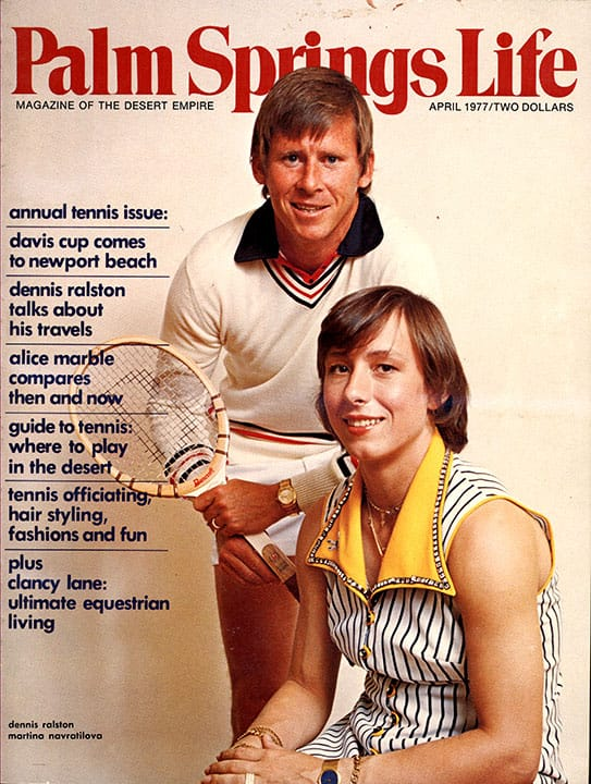 Palm Springs Life magazine - April 1977