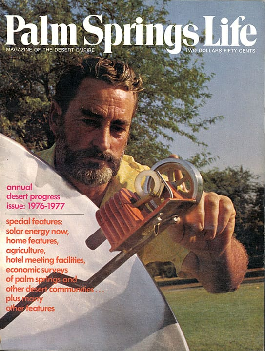 Palm Springs Life magazine - September 1976