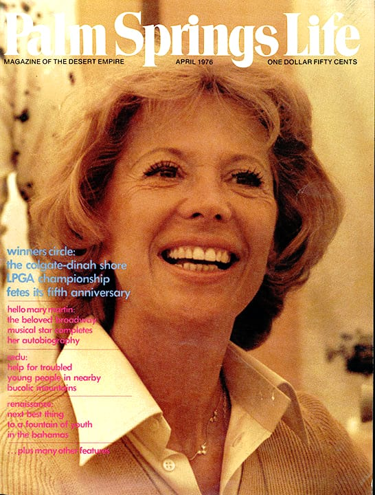 Palm Springs Life magazine - April 1976