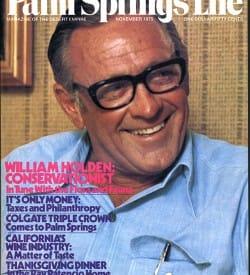 Palm Springs Life magazine - November 1975