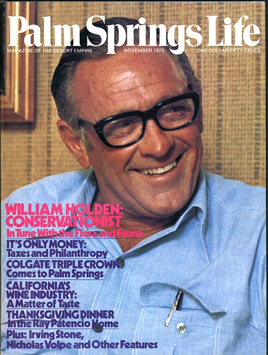 Palm Springs Life magazine - November 1975