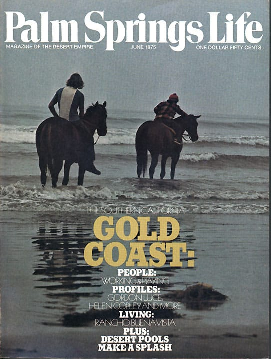 Palm Springs Life magazine - June 1975