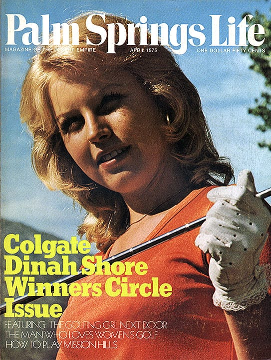 Palm Springs Life magazine - April 1975