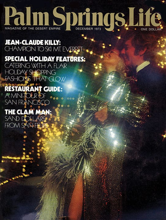 Palm Springs Life magazine - December 1973