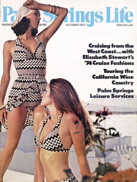 Palm Springs Life magazine - October 1973