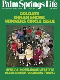 Palm Springs Life magazine - April 1973