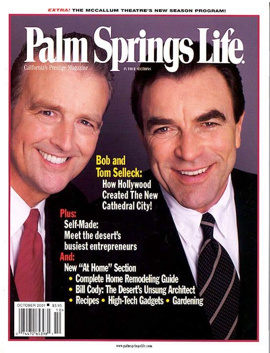 Palm Springs Life magazine - October 2001