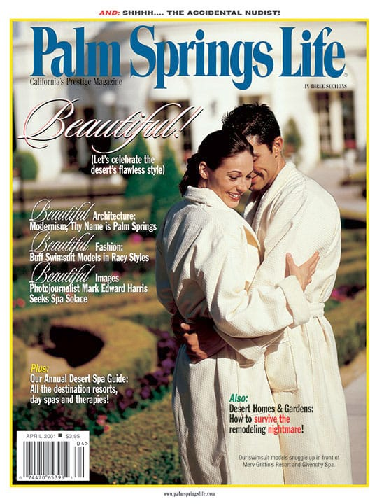Palm Springs Life magazine - April 2001