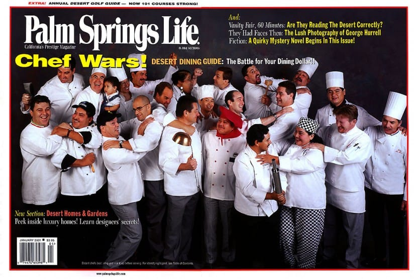 Palm Springs Life magazine - January 2001