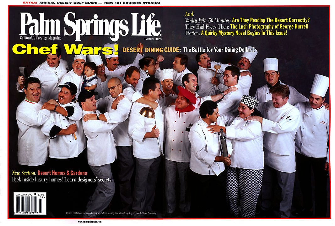 Palm Springs Life magazine - January 2001