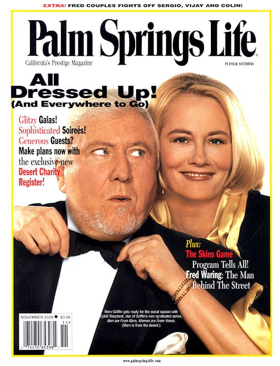 Palm Springs Life magazine - November 2000