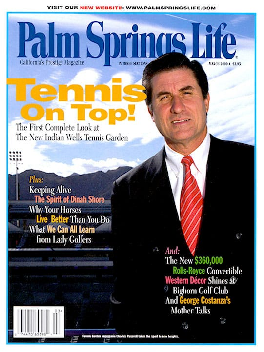 Palm Springs Life magazine - March 2000