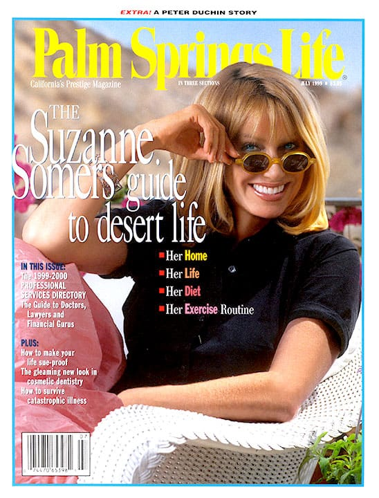 Palm Springs Life magazine - July 1999