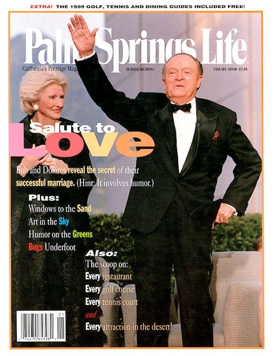 Palm Springs Life magazine - January 1999