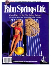 Palm Springs Life magazine - August 1998