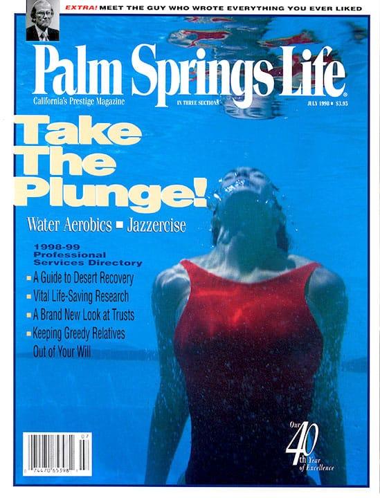 Palm Springs Life magazine - July 1998