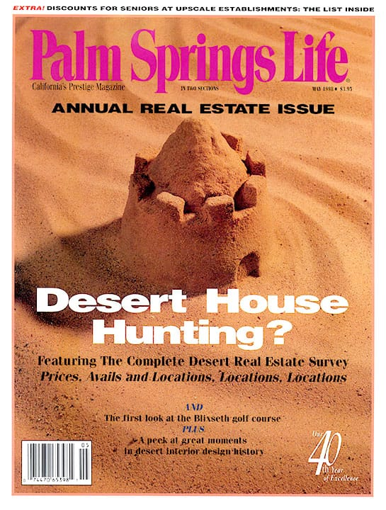Palm Springs Life magazine - May 1998