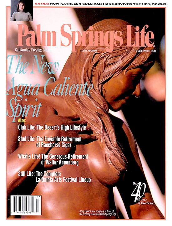 Palm Springs Life magazine - March 1998