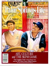 Palm Springs Life magazine - November 1997