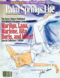 Palm Springs Life magazine - April 1997