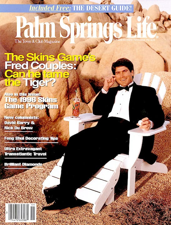 Palm Springs Life magazine - November 1996
