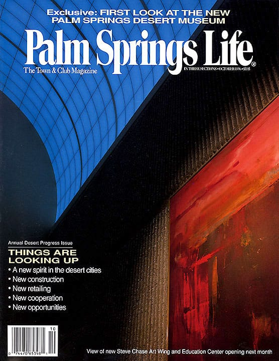 Palm Springs Life magazine - October 1996