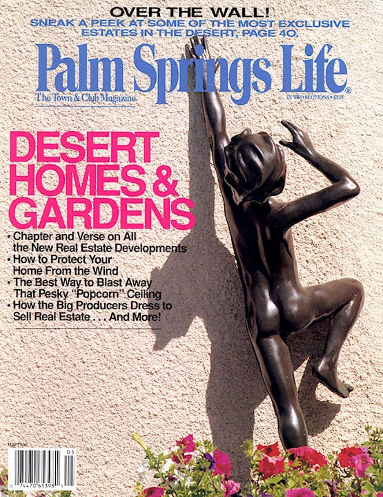 Palm Springs Life magazine - May 1996