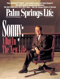 Palm Springs Life magazine - March 1996