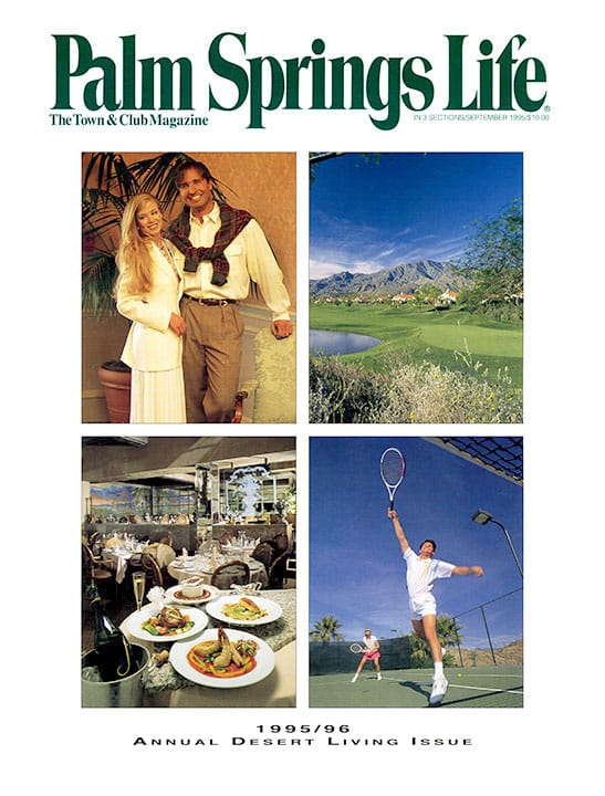 Palm Springs Life magazine - September 1995