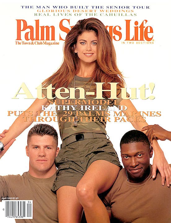 Palm Springs Life magazine - April 1995