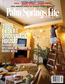 Palm Springs Life magazine - March 1995