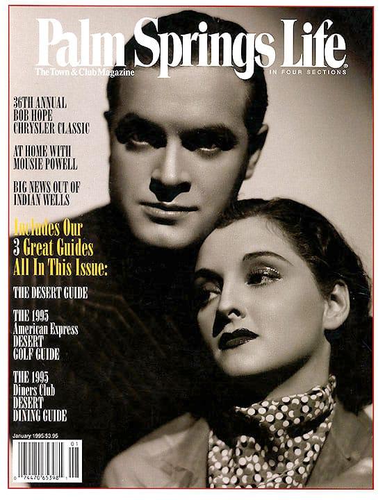 Palm Springs Life magazine - January 1995