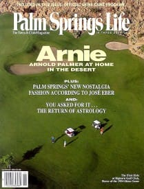 Palm Springs Life magazine - November 1994