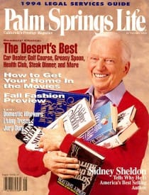 Palm Springs Life magazine - August 1994