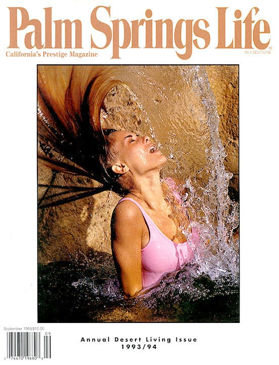 Palm Springs Life magazine - September 1993