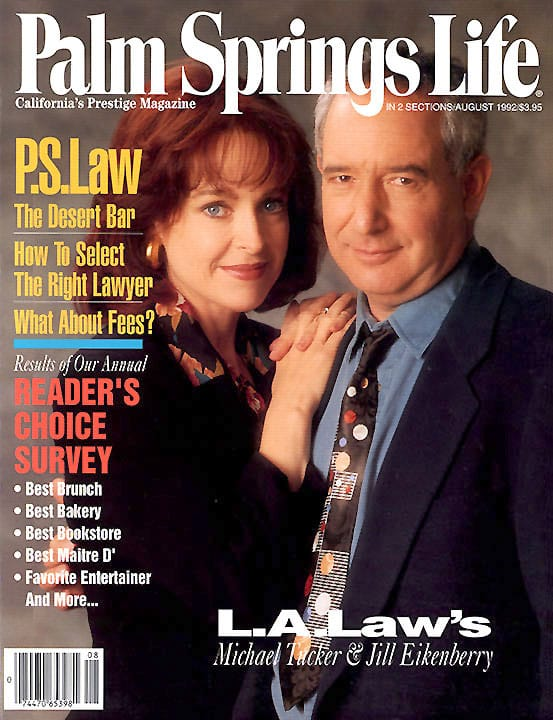 Palm Springs Life magazine - August 1992